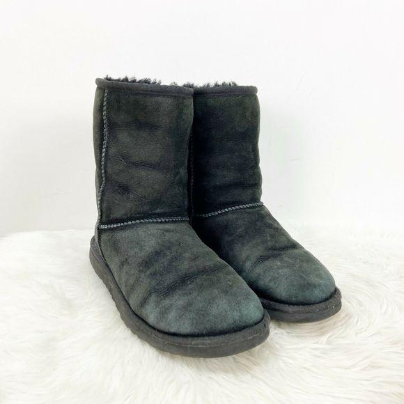 Black Suede Classic Short Boots   Poshmark
